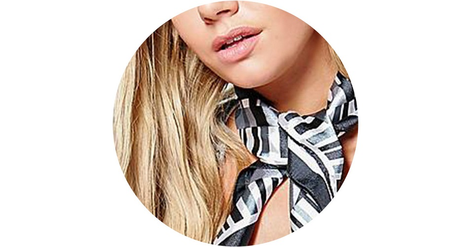 zijde sjaal